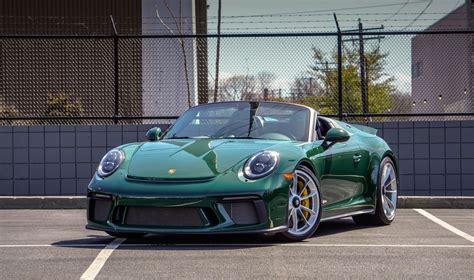 See autopedia's comprehensive porsche 911 speedster review. DT: New 2019 Porsche 991.2 Speedster PTS British Racing Green   PCARMARKET