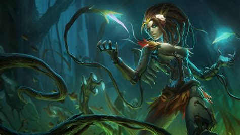 Haunted Zyra Preview For The League Of Legends Harrowing
