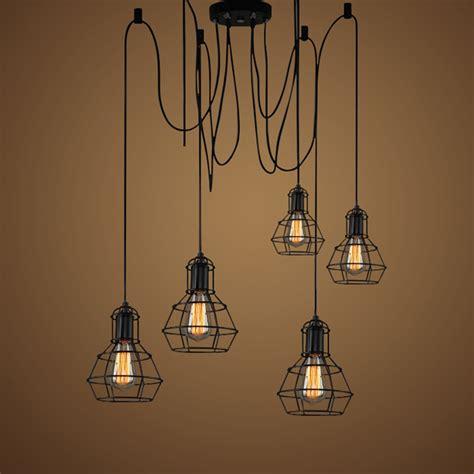 vintage industrial pendant l loft style lights kitchen