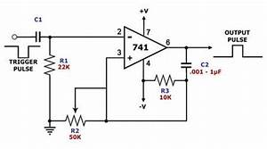 monostable oscillator circuit page 2 oscillator circuits With opamp multivibrator