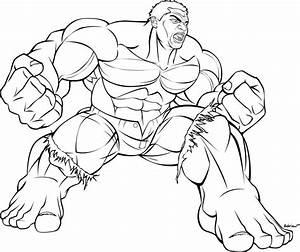 Marvel Superhero Incredible Hulk Smash Coloring Pages ...