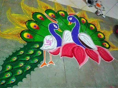 Top Rangoli Designs For Diwali 2015   Heart Bows & Makeup
