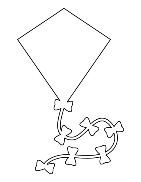 printable kite template