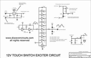 12v Touch Switch Exciter Circuits