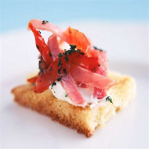 canape toppings word of the week canape ribbon box events