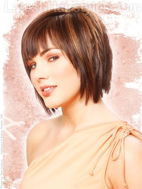 hottest short layered haircuts   trending