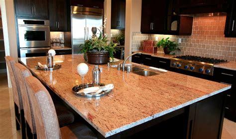 raja pink granite countertops traditional kitchen