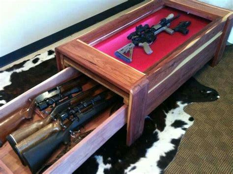 Gun Safe In Coffee Table  Fishing & Hunting Pinterest