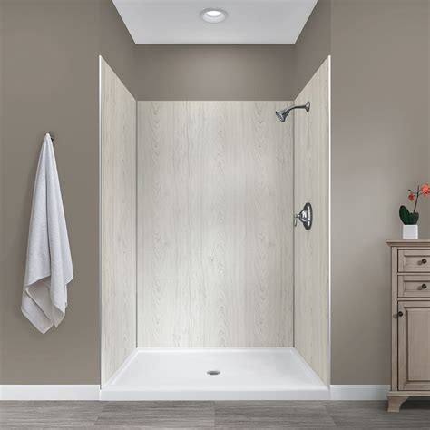 Bathroom Shower Walls - jetcoat 48 x 34 five panel shower wall system