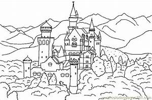 Realistic Forest Coloring Pages