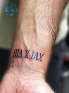 Tatouage Homme Petit : tatouage poignet prenom homme ~ Carolinahurricanesstore.com Idées de Décoration