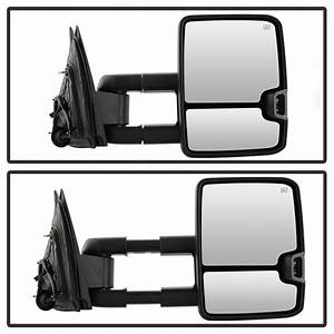 2014-17 Chevy Silverado    Gmc Sierra  1500 Model  Power Heated Led Signal Towing Mirror