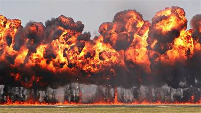 Explosion Military Background Bomb Blast Fire Napalm
