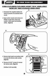 2007 Ford Explorer Sport Trac Radio Wiring Diagram