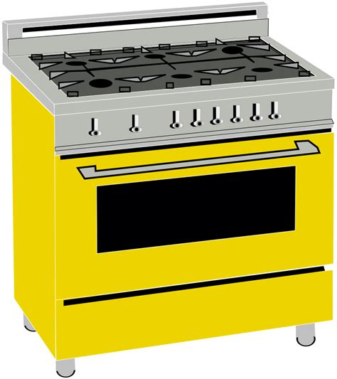 History Of The Kitchen by File Gas Range Svg Wikimedia Commons