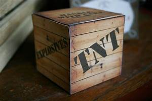 Wild West Cowboy TNT Box - Sassaby Parties