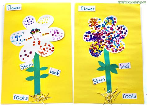 the best parts of a flower craft for 536 | flower craft preschool kindergarten Bells