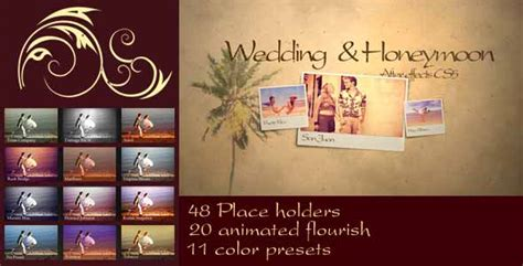 after effects template secret files 30 sentimental wedding after effects template collection