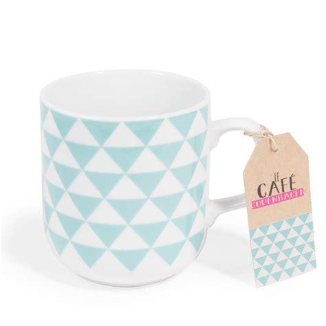 copenhagen blue porcelain mug maisons du monde