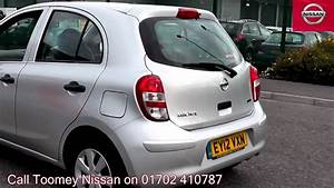 Nissan Micra 2012 : 2012 nissan micra visia universal silver ey12vxn for sale at toomey nissan southend youtube ~ Medecine-chirurgie-esthetiques.com Avis de Voitures