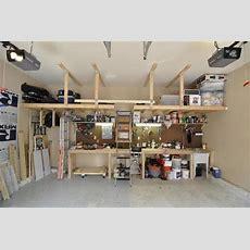 Overhead Garage Storage Ideas Pull Down Stairs Ideas