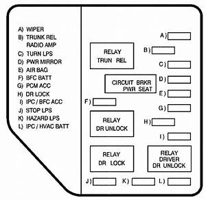 2007 Pontiac Grand Prix Fuse Box Diagram