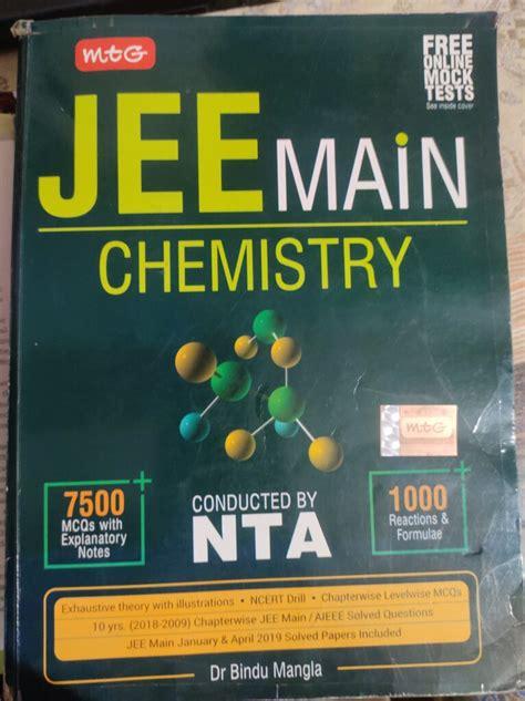 buy mtg jee mains chemistry bookflow