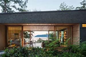 maison toit plat contemporaine par heliotrope architects With amenagement terrasse toit plat
