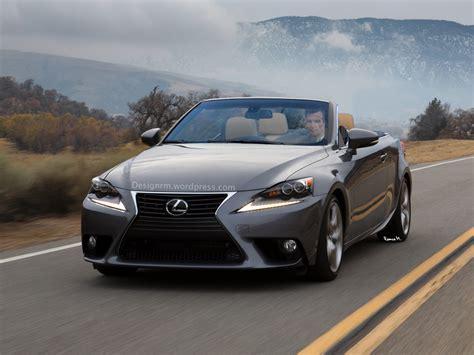 lexus 2014 is 2014 lexus is convertible rendered autoevolution