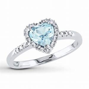 15 best collection of diamond aquamarine engagement rings With aquamarine wedding rings