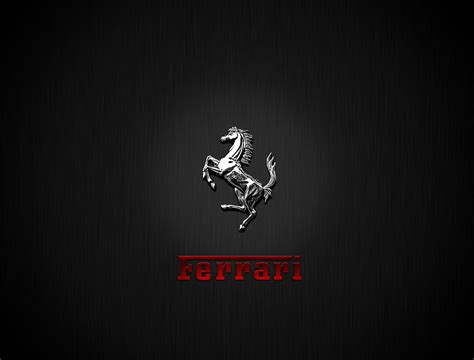 ferrari horse wallpaper chrome ferrari logo horse free wallpaper download