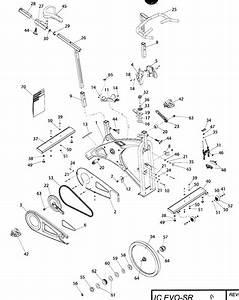 Schwinn Model 100117 Cycle Genuine Parts