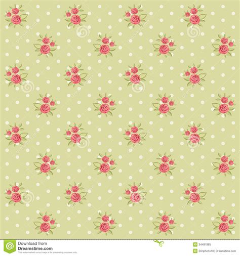 shabby chic floral pattern vintage pattern 3 royalty free stock photo image 34481885