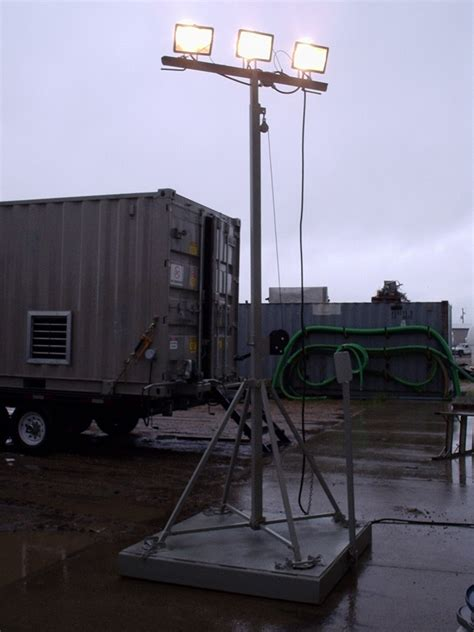 light tower rentals industrial light towers safe workplace lighting solutions