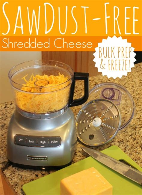 how to shred cheese sawdust free shredded cheese all things g d