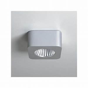 Spot Carré Led : spot led samos carr gris astro lighting ~ Edinachiropracticcenter.com Idées de Décoration