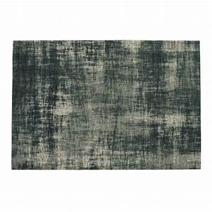 Tapis En Coton Bleu 140 X 200 Cm FEEL AZUR Maisons Du Monde