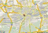 Map of Intercontinental Frankfurt, Frankfurt