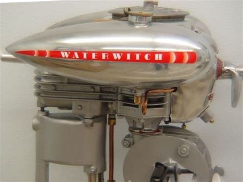Boat Motors At Sears by A 1938 Sears Waterwitch Outboard Motor By One