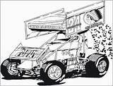 Dirt Late Drawing Coloring Track Race Sprint Drawings Kidz Sonny Korner Paintingvalley sketch template