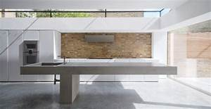 Beton Arbeitsplatte Küche : arbeitsplatte betonoptik modernit t und best ndigkeit ~ Sanjose-hotels-ca.com Haus und Dekorationen