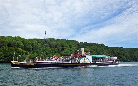 Boat Transport Dartmouth by Paddle Steamer River Cruise Dartmouth Steam Railway
