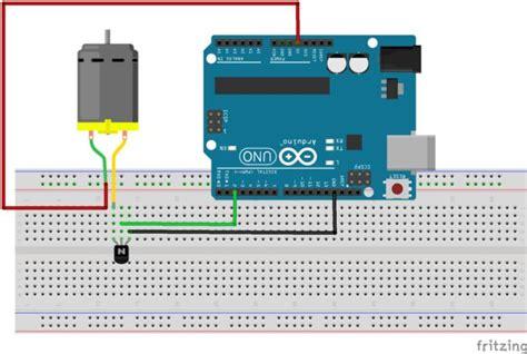 control   dc motor  arduino  visual basic