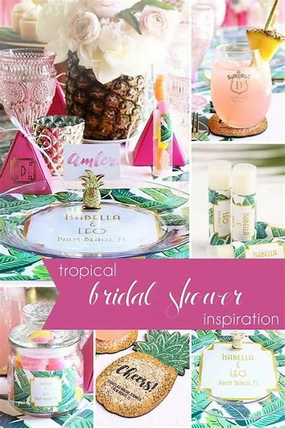 Tropical Shower Bridal Inspiration Bride Hill Favors