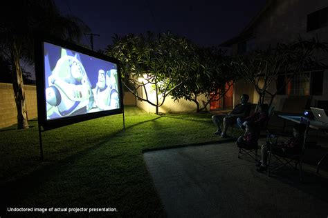 Elite Screens® Yard Master Series Foldable Outdoor