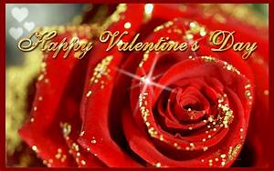 Download Happy Valentine's Day Red Rose Wallpaper Free ...