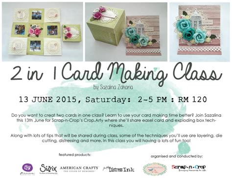 shareyourlovewithcards    card making class  june