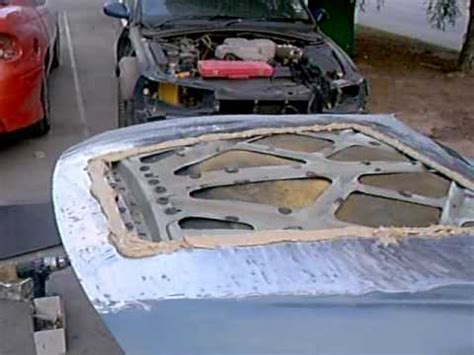molding ford falcon ba bonnet scoop bulge  toyota soarer