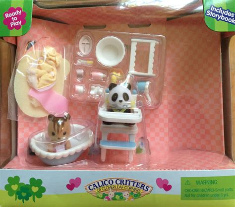 teddy bears friends sylvanian families calico critters flora and berry get ready for bed