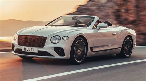 2019 bentley continental gt convertible debuts with 207 mph top end